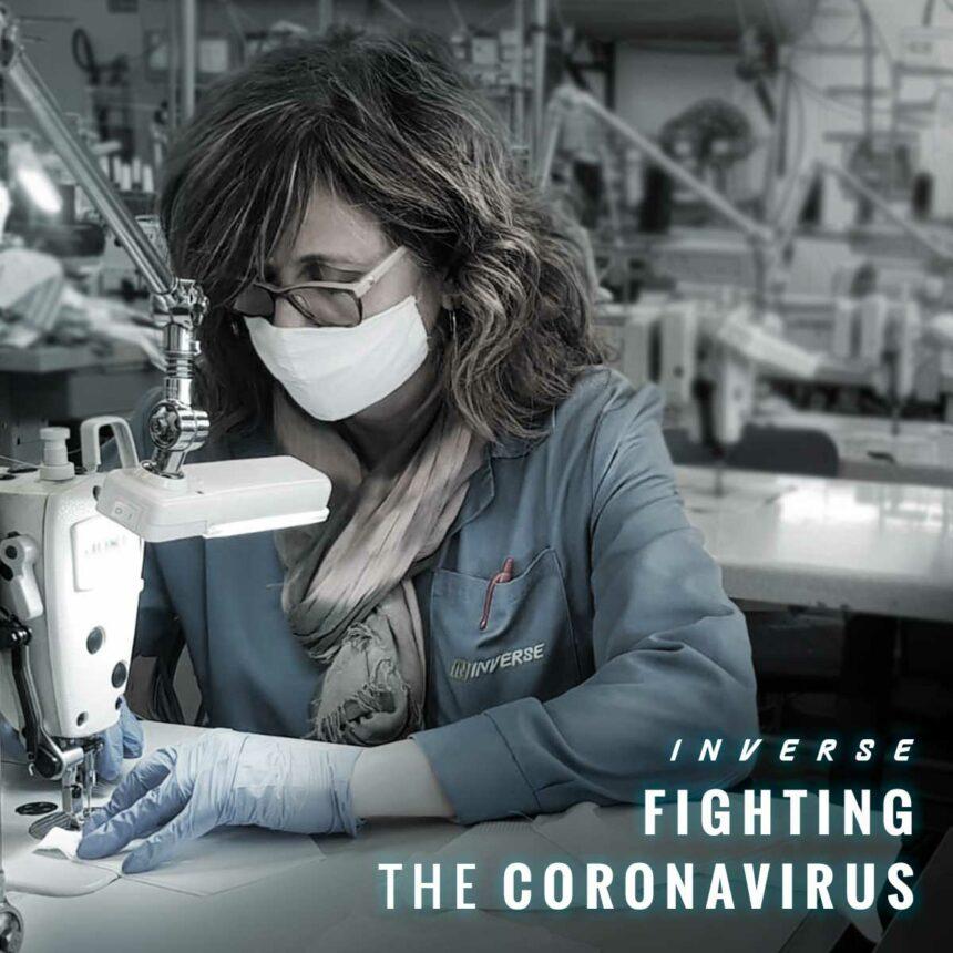 Inverse fighting the coronavirus