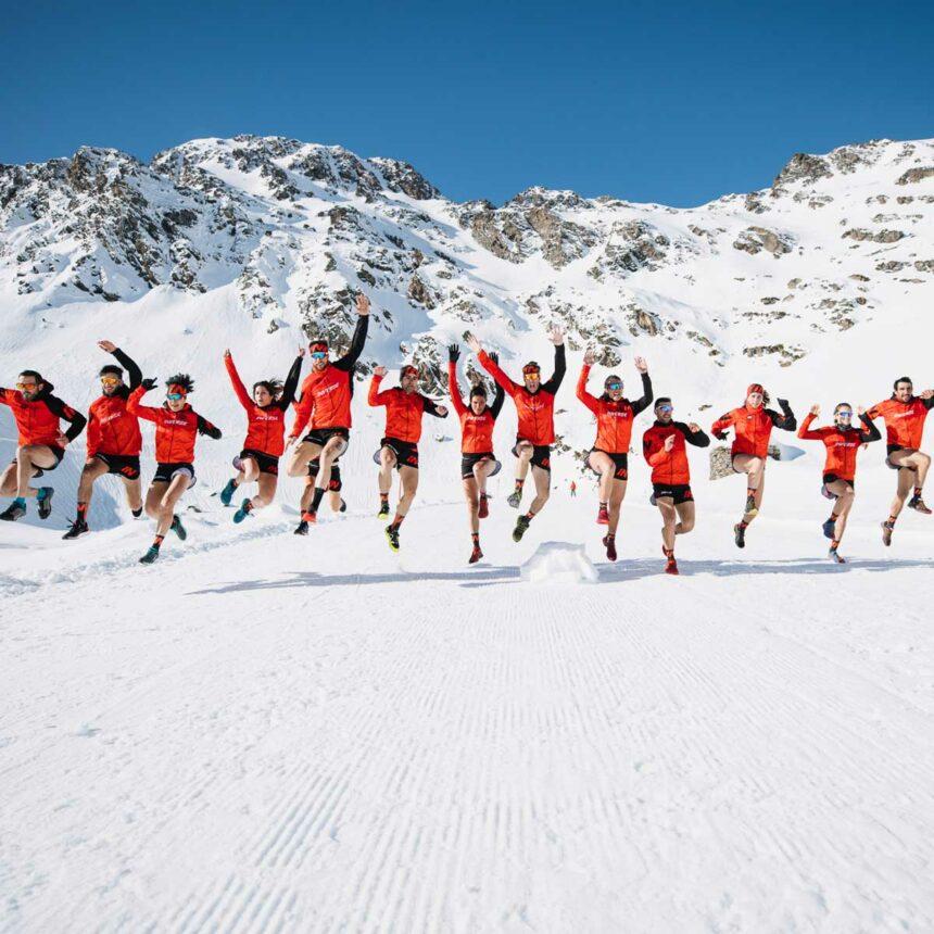Inverse presenta en Andorra su equipo de Trailrunning