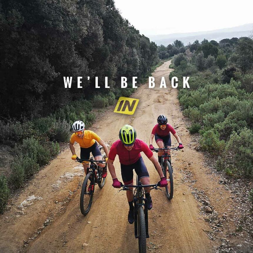 WE WILL BE BACK INVERSE CUSTOM CYCLING WEAR