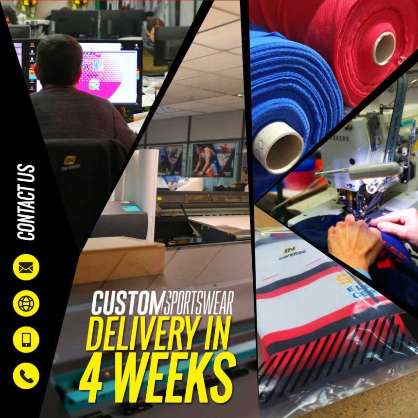 Entrega en 4 semanas ropa personalizada Inverse