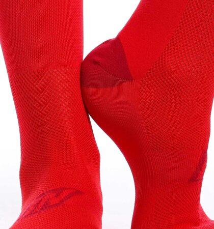 Calcetines deportivos 14 cm CLAW ROJOS
