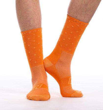 Calcetines deportivos 14 cm SPOT NARANJAS