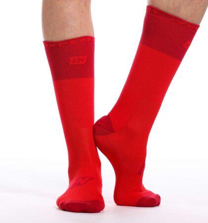 Calcetines deportivos 24 cm CLAW ROJOS
