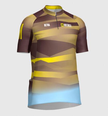 Camiseta manga lycra trail running ULTRA