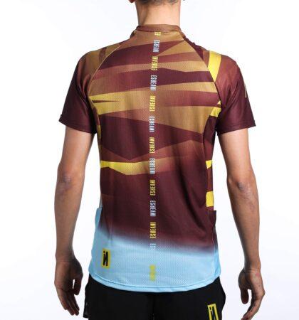 Camiseta manga corta trail running hombre CAMU