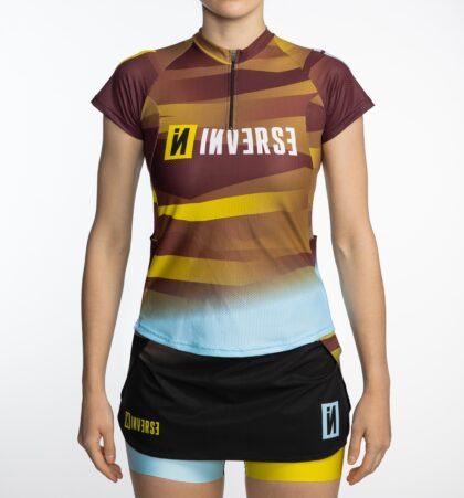Camiseta manga corta trail running mujer CAMU