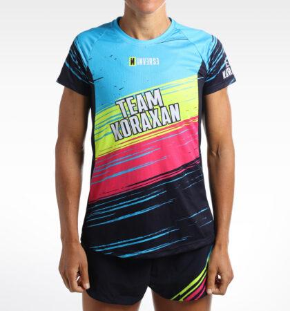 T-shirt running TEAM KORAXAN