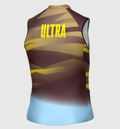 Camiseta sin mangas trail running ULTRA