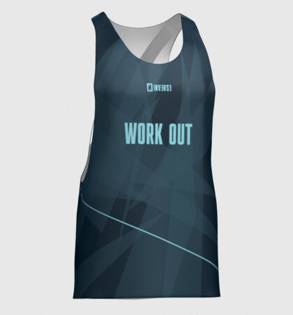 Camiseta tirantes hombre fitness WORK OUT