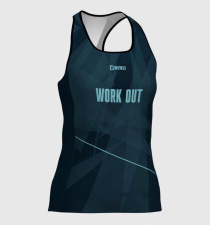 Débardeur fitness femme WORK OUT