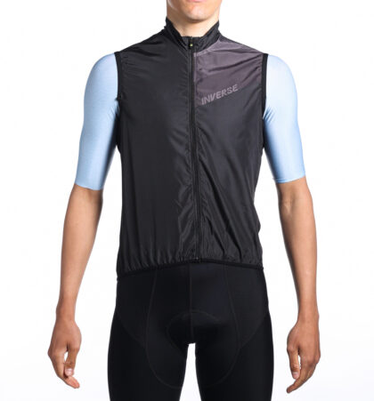 Chaleco ciclista FRISK NEGRO