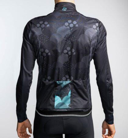 Chaqueta ciclista MORGET BLUE HOMBRE