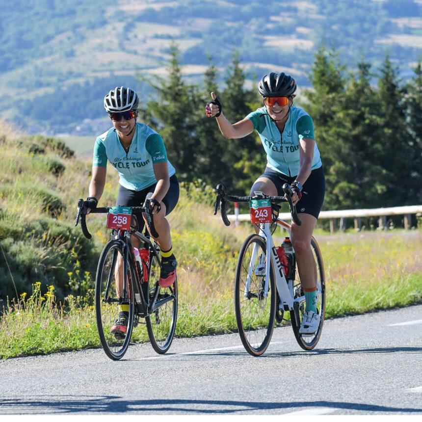 la Alp-Cerdanya Cycle Tour, la marcha cicloturista internacional