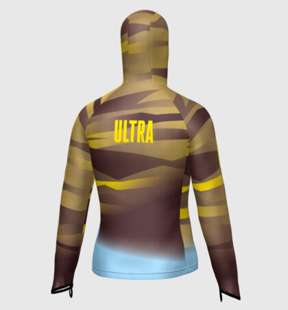 Impermeable con capucha trail running ULTRA