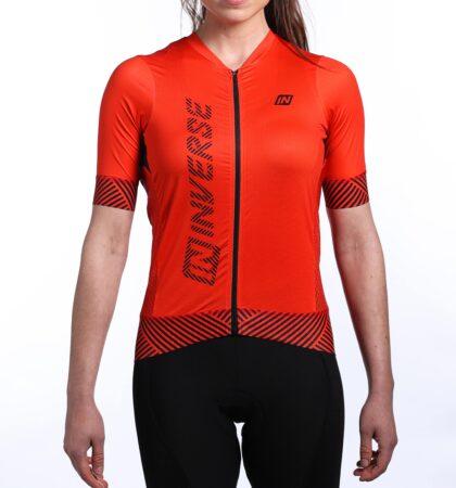 Maillot ciclista manga corta CYCLONE ROJO