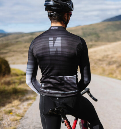 Long sleeve cycling jersey INDOMIT