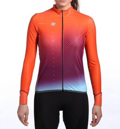 Maillot ciclista mujer KLOD delante
