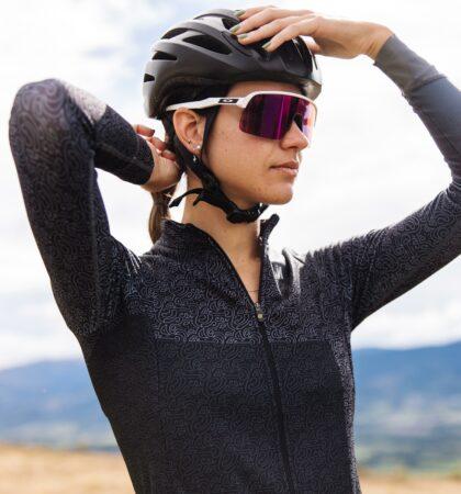 Women long sleeve cycling jersey DORDACHAS
