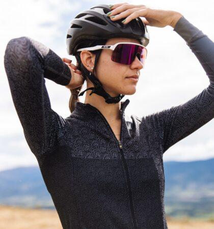 Maillot cyclisme manches longues pour femme DORDACHAS