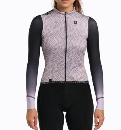 Maillot cyclisme manches longues pour femme LANARD