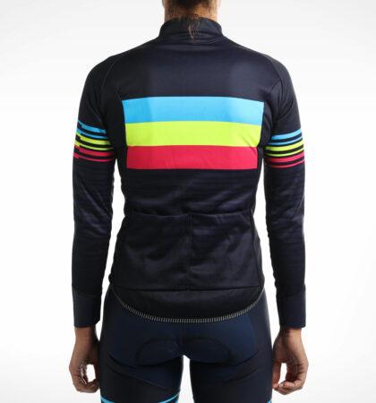 Winter cycling jersey Judith Corachán