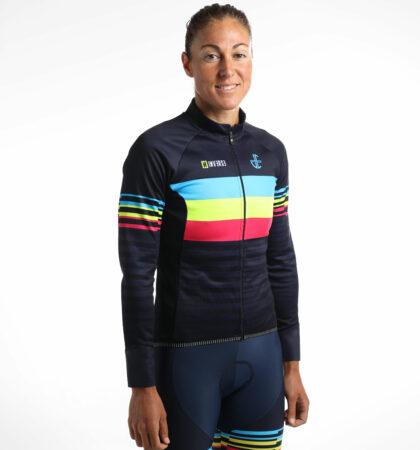 Maillot cyclisme hiver Judith Corachán