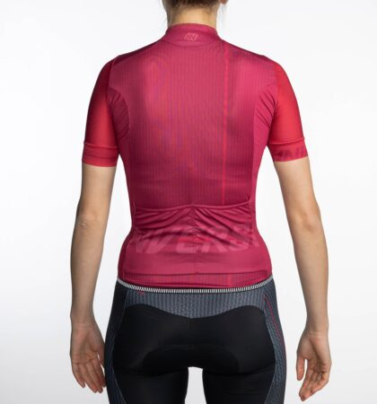 Maillot ciclista manga corta mujer BUSTER