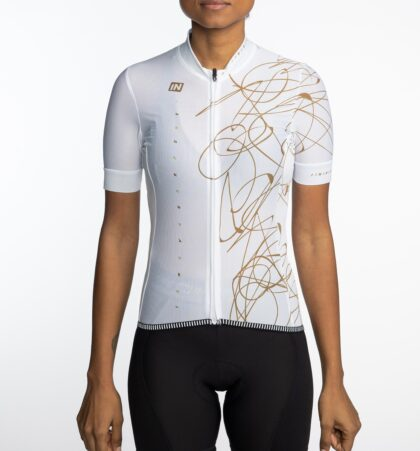 Maillot ciclista mujer DELARTE delante
