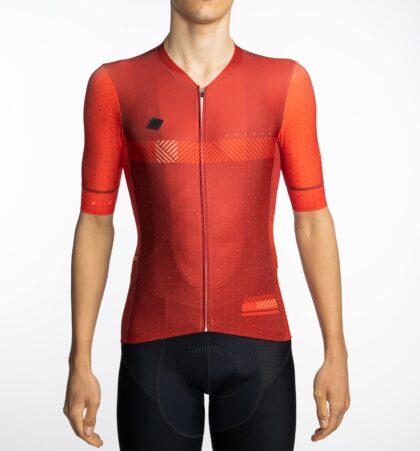 Maillot ciclista SINCRA RED delante