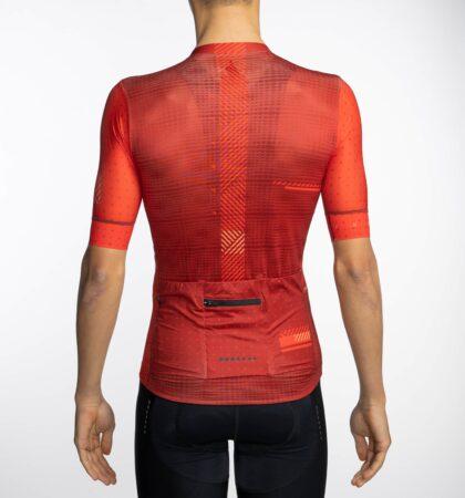 Maillot ciclista SINCRA RED detras