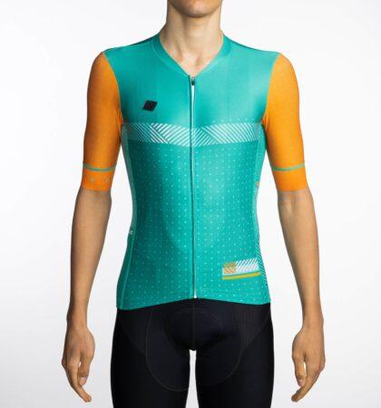 Maillot ciclista SPECTRA TURQUOISE delante