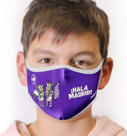 Mascarilla higienica KUKUXUMUSU HALA-MADRID