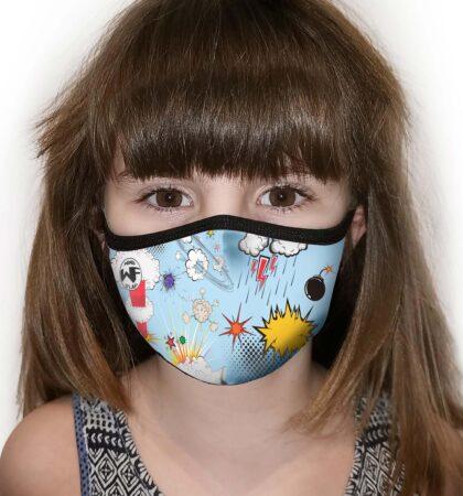 Mascarilla higienica infantil WF32