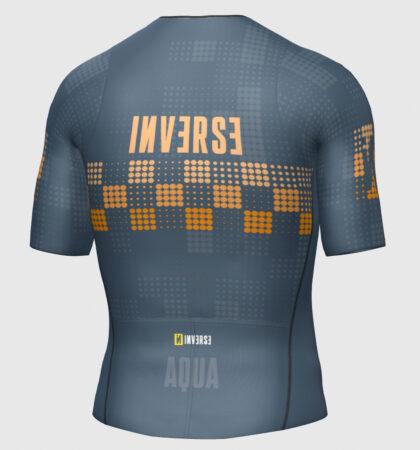 Short sleeve triathlon top AQUA
