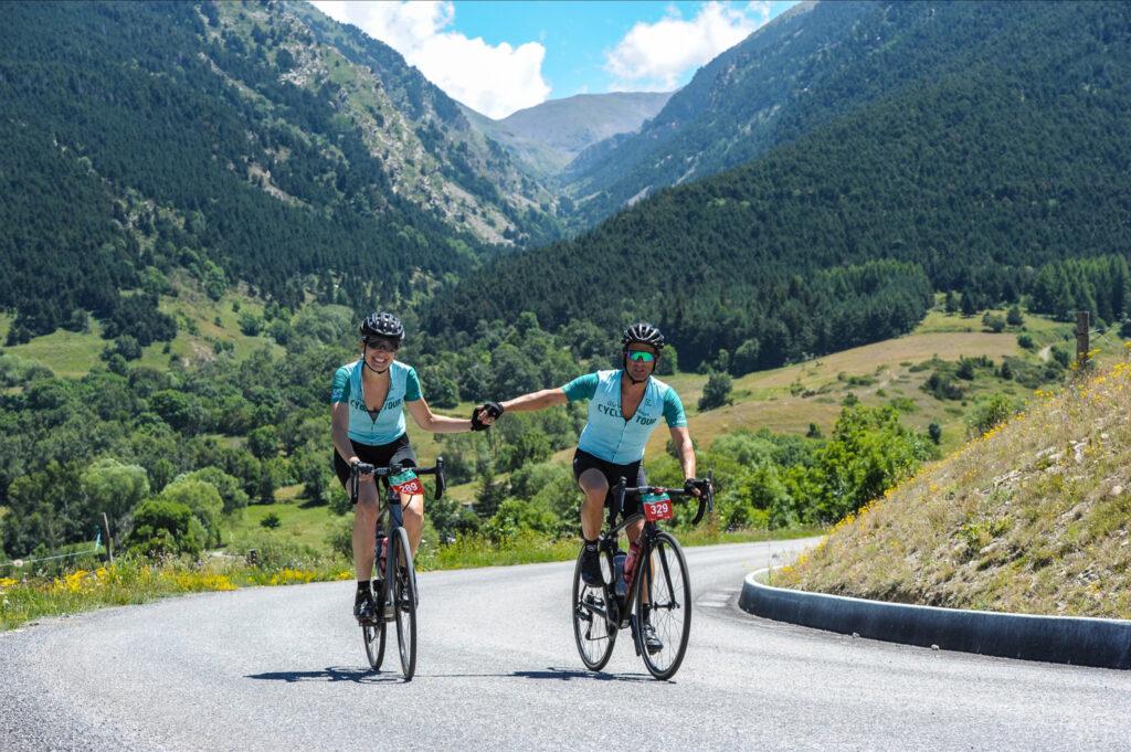 La marcha cicloturista Alp-Cerdanya Cycle Tour