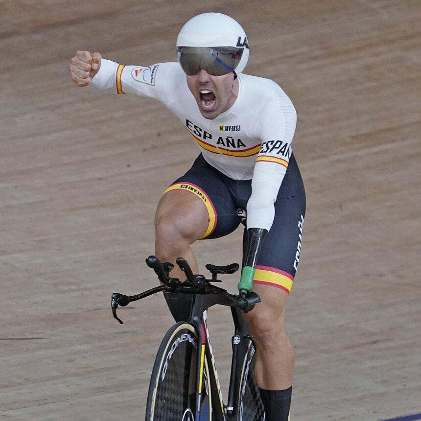 Alfonso Cabello, oro y récord del mundo en los Juegos Paralímpicos de Tokyo 2021